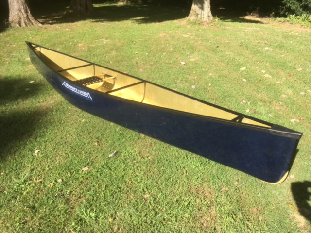 Columba Canoe, blue kevlar