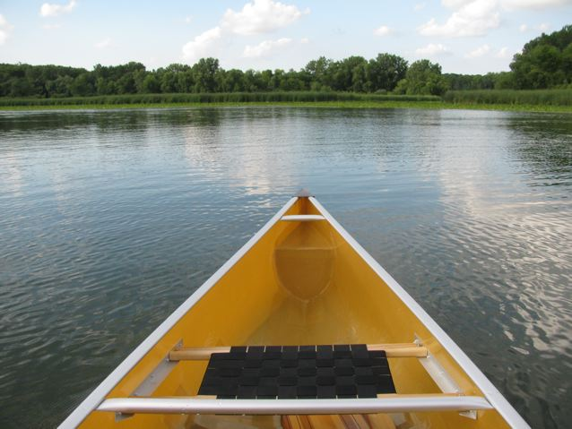 Cygnus 16, solo paddling